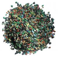 Buy cheap Skid Proof Artificial Grass Rubber Granules Multi Colors For Training Places from wholesalers