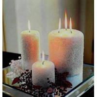 Buy cheap 40 * 50cm Decorative Candles Frame Electronic Water - Proof Lighted Wall Art for Wall from wholesalers