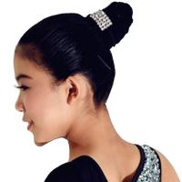 Buy cheap Ballet Lyrical Dance Dress Accessory Crystal Hair Elastic Bands Party Performance Costumes Accessory For Girls from wholesalers