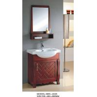 Buy cheap Classical Feature Solid Wood Bathroom Cabinet shaker style 0.4 Vanity Size from wholesalers