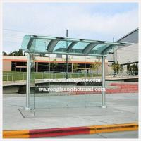 Buy cheap Bent Tempered/Toughened Glass for Bus Shelter/Stop/Station from wholesalers