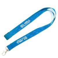 Buy cheap Classic Blue Lanyard Promotional Products Sublimation Printing Logo With Hook from wholesalers