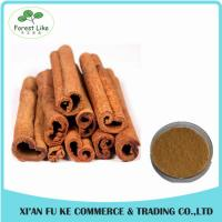 Buy cheap Raw Metarial Plant Extract Cinnamon Bark Extract Powder with Polyphenols from wholesalers