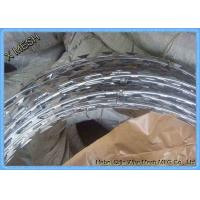 Buy cheap Hot Dipped Galvanized Razor Barbed Wire for Prison Protect Fence from wholesalers
