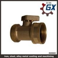 Buy cheap Cast NPT Full Port Private Label on Handle Brass Ball Valve for Gas from wholesalers