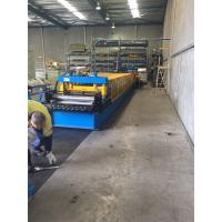 Buy cheap Heavy Duty Storage Rack Metal Roll Forming Equipment 8-15 M / Min For Warehouse product