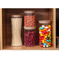 Buy cheap High Borosilicate Glass Cereal Storage Containers Airtight Food Storage With Cork from wholesalers