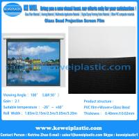 Buy cheap Glass Bead Projection Screen Film from wholesalers