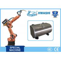 Buy cheap HWASHI 6 Axis Mig Tig Welding Robot  Arm for  Aluminum Fuel Tank from wholesalers