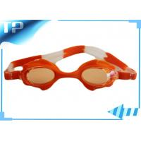 Buy cheap Tinted Prescription Swimming Goggles For Children / Optical Swim Glasses from wholesalers
