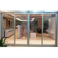 Buy cheap 3 mm Automatic Aluminium Sliding Doors / Automated Sliding Door For Hotel from wholesalers