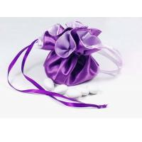 Buy cheap Mixed Color Wedding Favors Satin Candy Pouch  Satin Jewely Gifts Bag from wholesalers