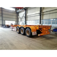 Buy cheap china factory cheapest 40 ft skeleton semi trailer for sale, best price CLW skeleton container semitraielr for sale from wholesalers