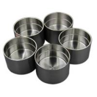 Buy cheap high purity niobium zirconium alloy crucible widely used for steel, ceramics, electronics, nuclear energy industries from wholesalers
