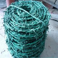 Buy cheap Barbed Wire/PVC Coated Barbed Wire/PVC Barbed Wire Fencing/low price soft zinc coated twisted barbed wire from wholesalers
