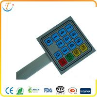 Buy cheap Dome Keys tactile Membrane Switch Panel Membrane Keypad For Electronics from wholesalers