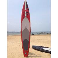 Buy cheap Stand Up Inflatable Standup Paddleboard 3.8meter Length 15cm Width Red Airmat Floor from wholesalers