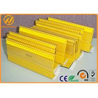 Buy cheap Yellow / White Reflective PU Raised Pavement Marker Rubber Cable Ramps For Highway from wholesalers