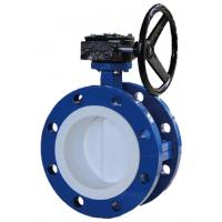 Buy cheap BS AWWA DN150  Soft Sealing  Stainless Steel Double Eccentric Butterfly Valve from wholesalers