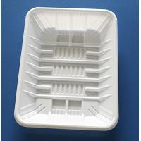 Buy cheap Wholesale Disposable Plastic packaging tray for food frozen tray dumpling tray from wholesalers