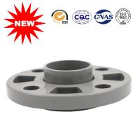 Buy cheap ANSI Plastic Pipe Fittings , PVC Water Pipe Fittings Gary Flexible Flange from wholesalers