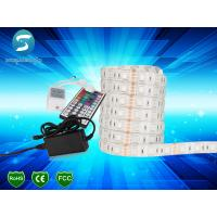 Buy cheap SMD 5050 LED Strip Light 12V DC , Waterproof Flexible LED Strip CE ROHS Approved from wholesalers