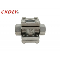Buy cheap Investment Casting Sight Glass Flow Indicator Screw Ends from wholesalers
