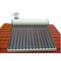 Buy cheap household imported color plate tank solar water heater from wholesalers