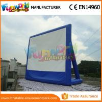 Buy cheap Portable Inflatable Backyard Movie Screen Outdoor Games Inflatable Billboards from wholesalers