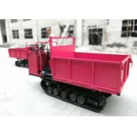 Fashion Tracked Mini Dumper Transporter , Rubber Track Dumper For Goods