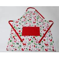 Buy cheap Durable Colorful  Cute Cooking Aprons Cotton Polyester  Logo Embroidery Print product