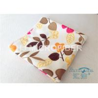 Buy cheap High Absorbent Flower Printed Streak Free Microfiber Cloth 80% Polyester from wholesalers