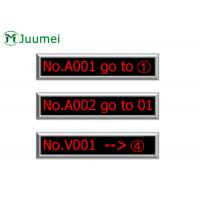 Buy cheap Queue System LED Counter Display 8 Character 150-500 Meters Wireless Distance from wholesalers