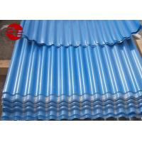 Buy cheap 4*8 Colour Coated Roofing Sheets For Decorative Corrugated Metal Wall Panels from wholesalers