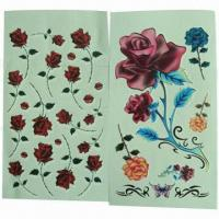 Buy cheap Tattoo Stickers, Safe and Nontoxic, Easy to Apply and Remove, OEM and ODM Orders product
