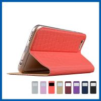 Buy cheap Folio Flip Cell Phone Purse Case Stand View Iphone Wallet Cover With Magnetic Flap from wholesalers