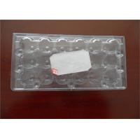 Buy cheap Poultry Equipment PET Custom Made Egg Cartons , Durable Plastic Egg Boxes from wholesalers