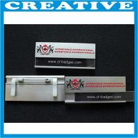 Buy cheap Aluminum Name Badges product