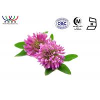 Buy cheap Anti - Cancer Red Clover Extract  Dark Green Fine Powder EU Standard Pharmaceutical Grade product