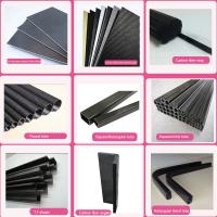 Buy cheap 3k plain twill pultruded uni-direction Carbon Fiber tube, pipe, CFP tube for frames, trusses, and reinforcing material from wholesalers