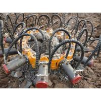 Buy cheap Crush Round Concrete Hydraulic Pile Breaker Head For Excavator KP315A from wholesalers