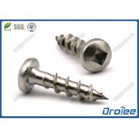 Buy cheap SS 304/316/410 Square Drive Pan Head Stainless Steel Wood Decking Screw from wholesalers