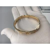 Buy cheap Cartier Gold Bracelet , Cartier Bracelet Rose Gold With 204 Brilliant - Cut Diamonds product