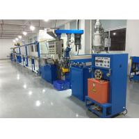Buy cheap Automated Plastic Wire Production Line , Pvc Cable Manufacturing Machine 500 M/ Min product