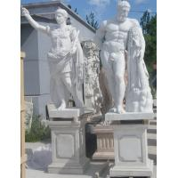 Buy cheap Ancient Rome statues Museum marble sculptures Heracles replica stone statue,stone carving supplier from wholesalers