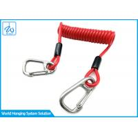 Buy cheap Outdoor Recreation Lanyard Extension Spring Safety Cable from wholesalers