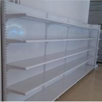 Buy cheap Custom Wall Supermarket Display Shelving Shop Gondola Retail Steel Shelving Rack For Display from wholesalers