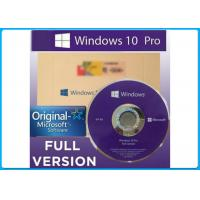 Buy cheap Windows 10 Pro Software Turkish package 32/64 Bit Genuine License OEM Key Turkish version from wholesalers