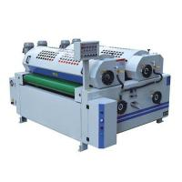 Buy cheap Full precision double roller coating machine for cabinet board/MDF board,3.75KW power from wholesalers