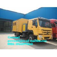Buy cheap HOWO 4 x 2 Light Duty Commercial Trucks Mobile Workshop Truck from wholesalers